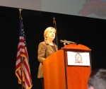 Hillary Clinton at DPVA JJ Dinner 2008