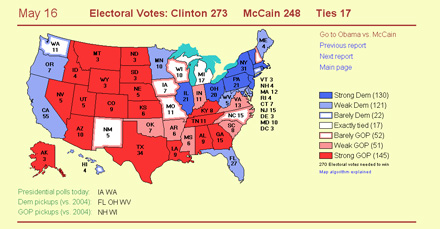 Clinton\'s electoral votes