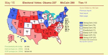 Obama\'s Electoral votes