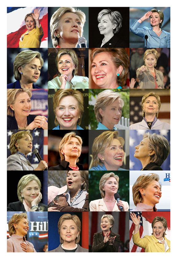 Beautiful Hillary Clinton