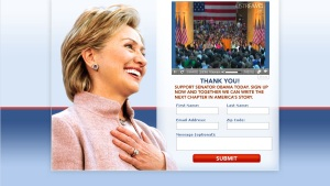 Hillary Clinton Website 06/07/08