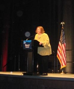 Women's Caucus chair Mame Reilly