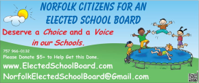 Norfolk elected school board: nearly 17,000 signatures