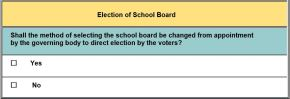 Norfolk: Vote Yes on elected school boards