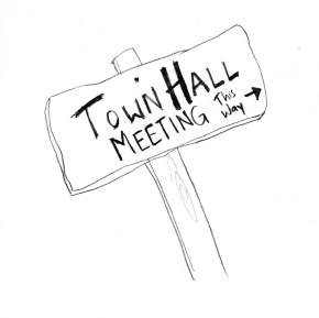 Lewis town hall meetings this week
