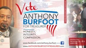 Burfoot is toast